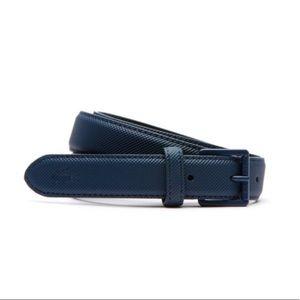 Lacoste Navy Blue Belt